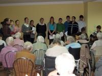 thumbs 4 Koncert licealistów w Domu Pomocy Społecznej